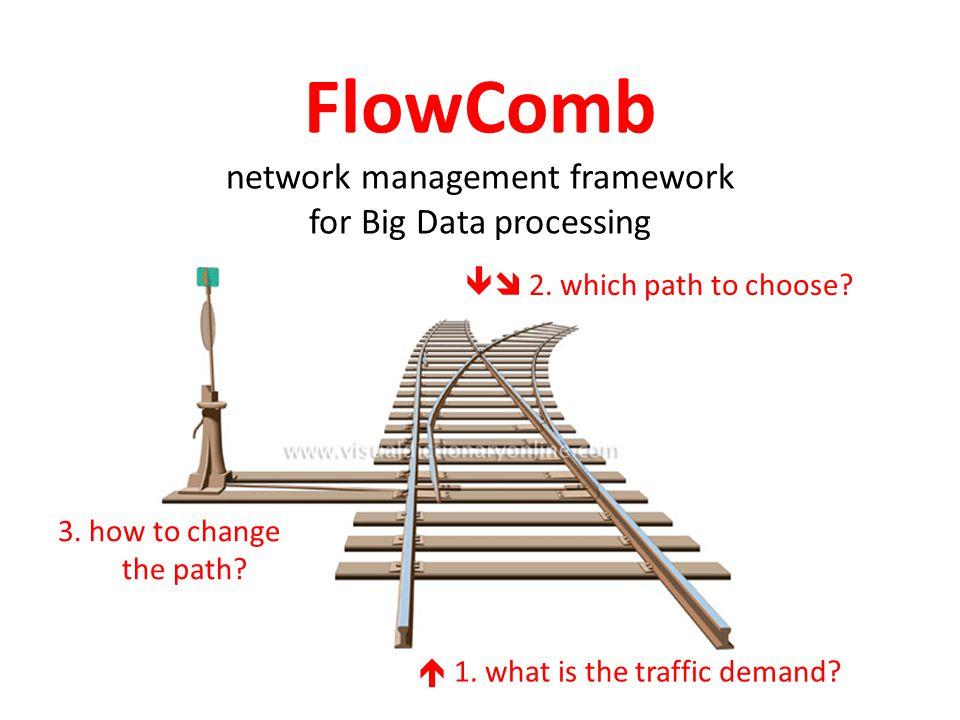 FlowComb network management framework for Big Data processing  1.