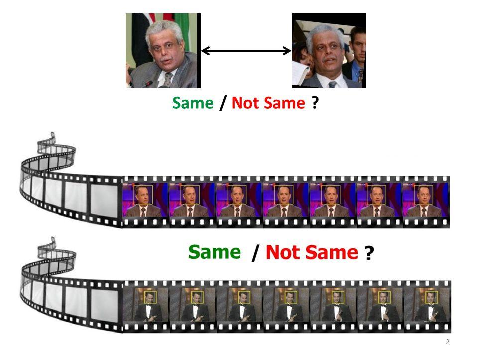 2 Same / Not Same