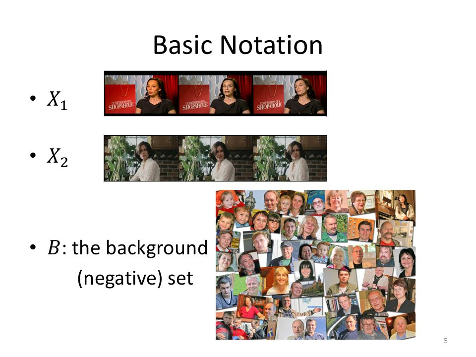 Basic Notation 5