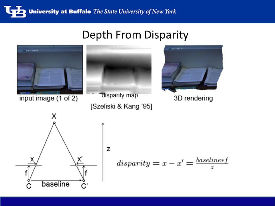 Depth From Disparity