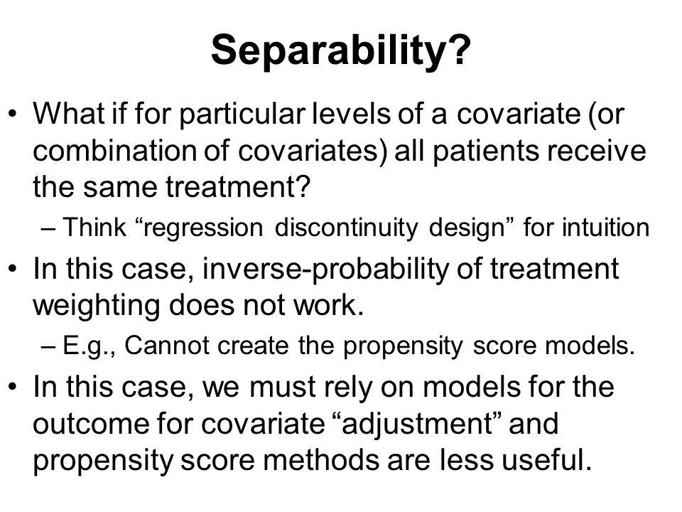 Separability.