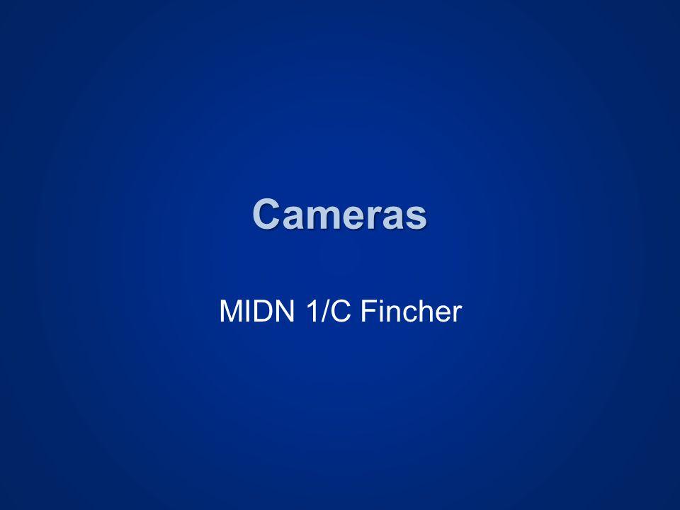 Cameras MIDN 1/C Fincher