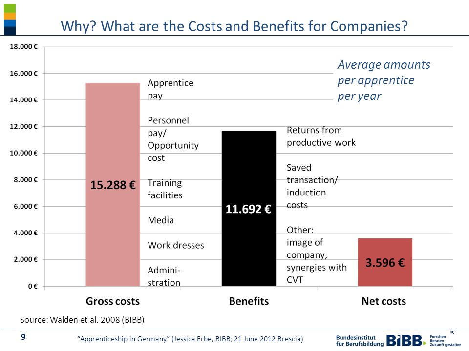 ® Why. What are the Costs and Benefits for Companies.
