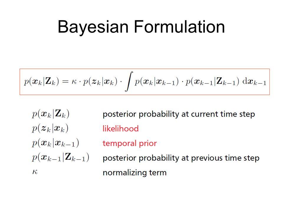 Bayesian Formulation
