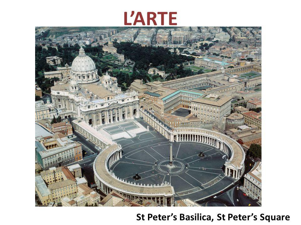 L'ARTE St Peter's Basilica, St Peter's Square
