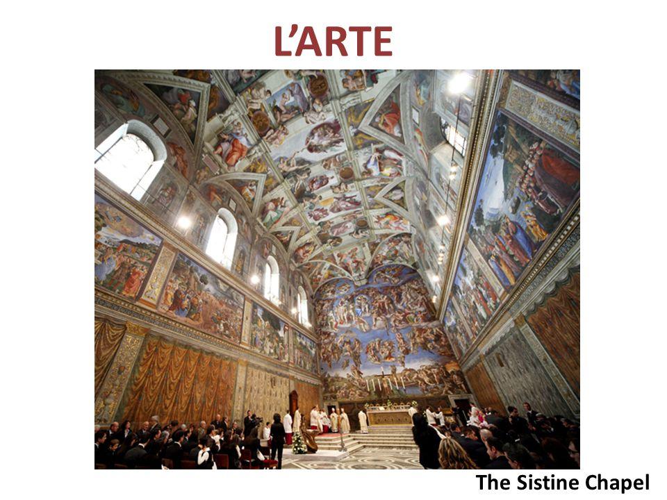 L'ARTE The Sistine Chapel