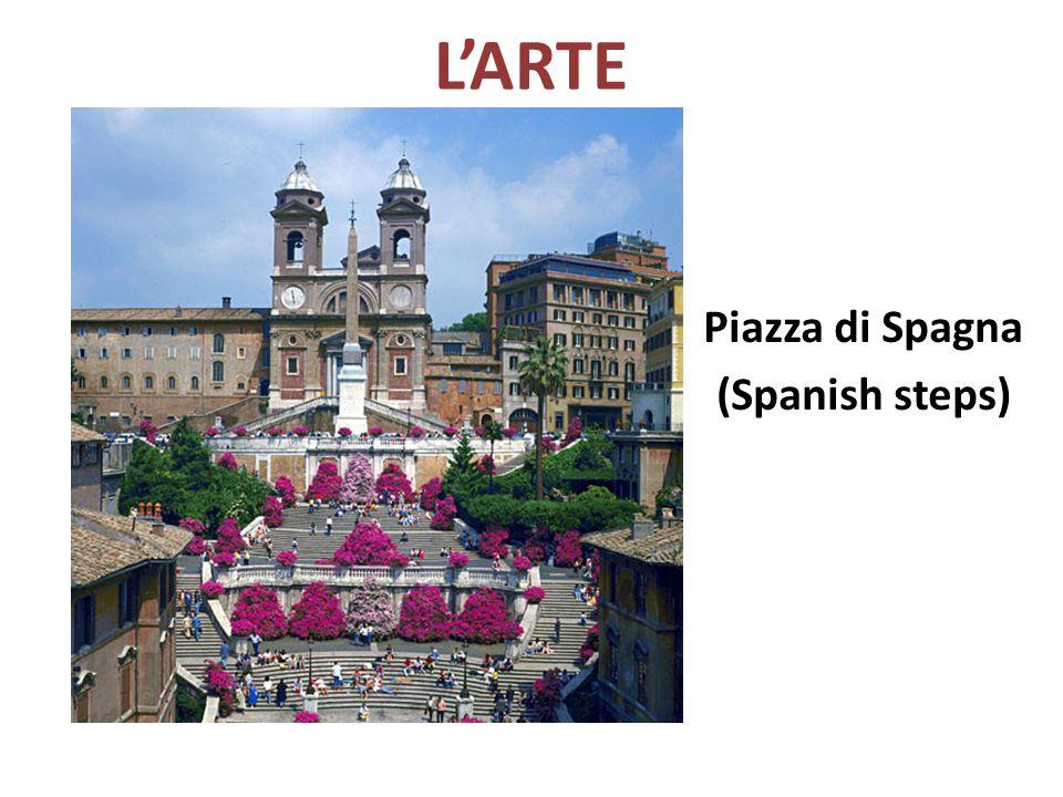 L'ARTE Piazza di Spagna (Spanish steps)