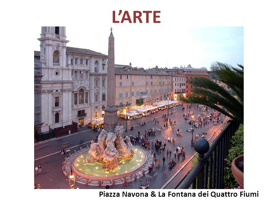 L'ARTE Piazza Navona & La Fontana dei Quattro Fiumi