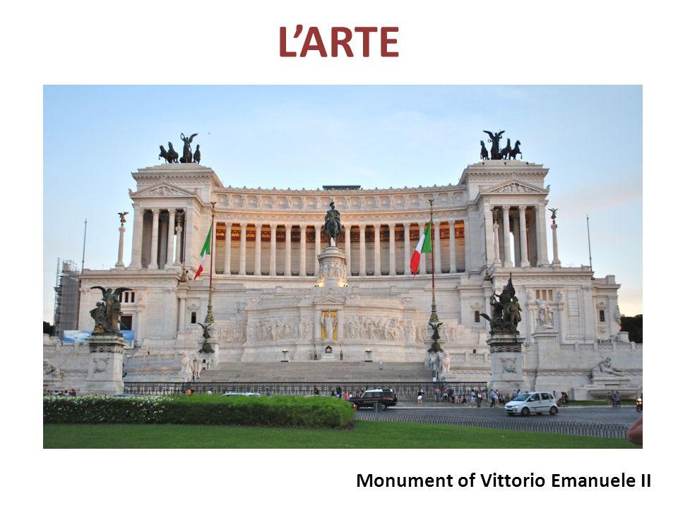 L'ARTE Monument of Vittorio Emanuele II