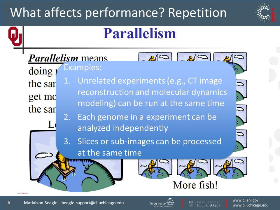 6 Matlab on Beagle – What affects performance.