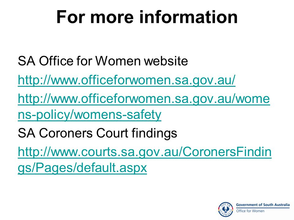 New Initiatives Domestic Violence Serial Offender Database Domestic Violence Intervention Program Perpetrator Pays System Domestic Violence Coronial Database Multi Agency Protection Service Single Consistent Risk Assessment Form Ongoing review of reforms