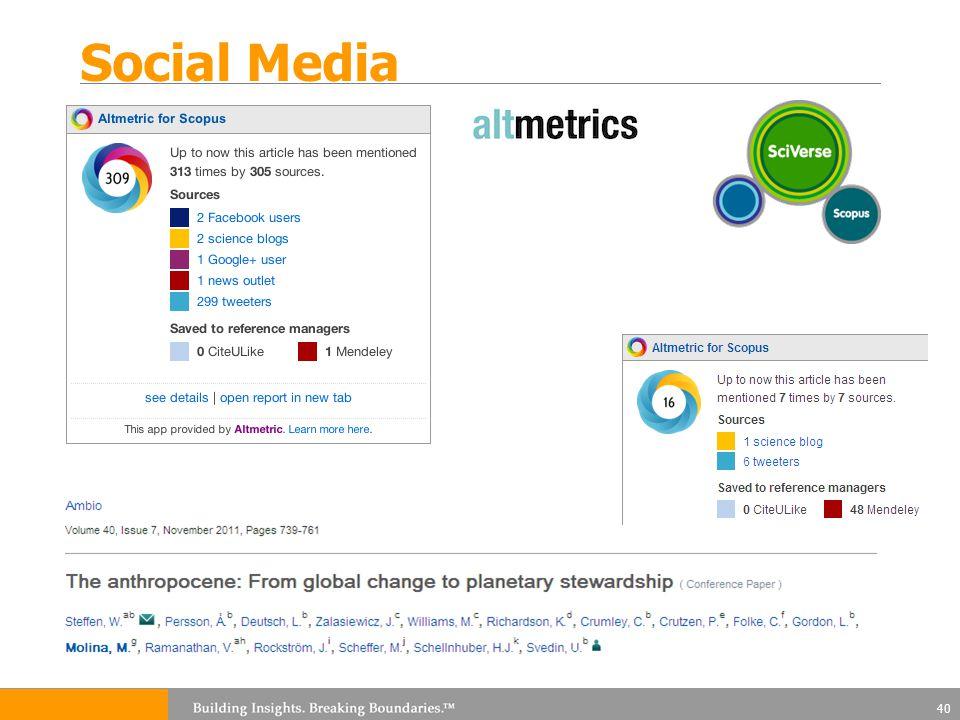 Social Media 40