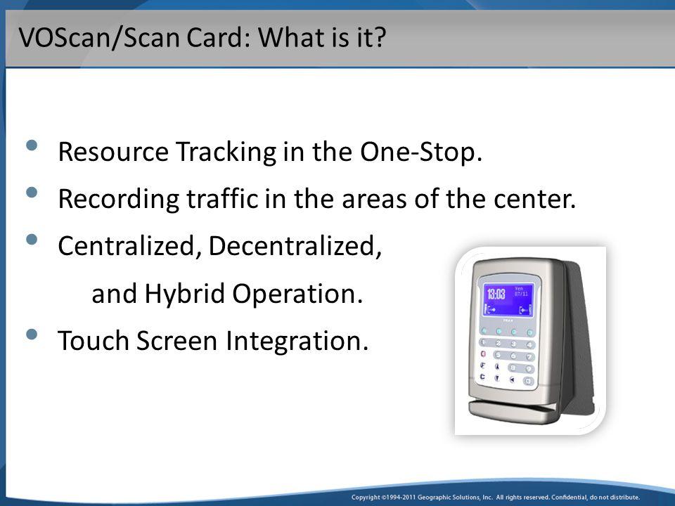 VOScan Hardware Options TRAX+GTerminal Touch Screen Kiosk Mini Magstripe Reader