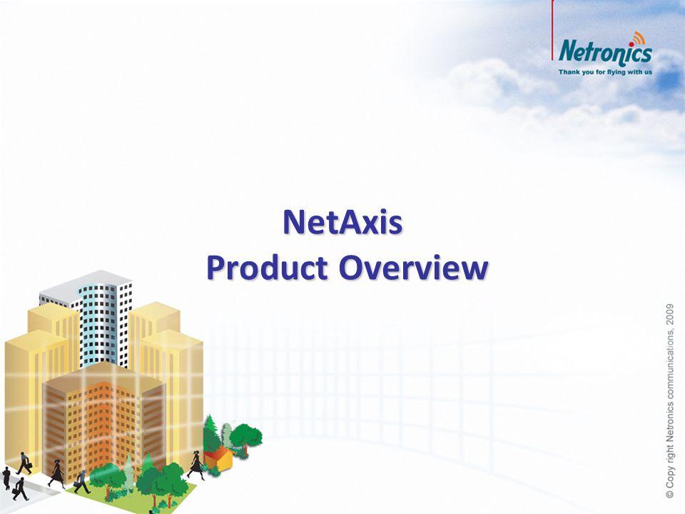 NetAxis Equipment Description NetAxis Link Configurations NetAxis Key Features Network Management Software Agenda