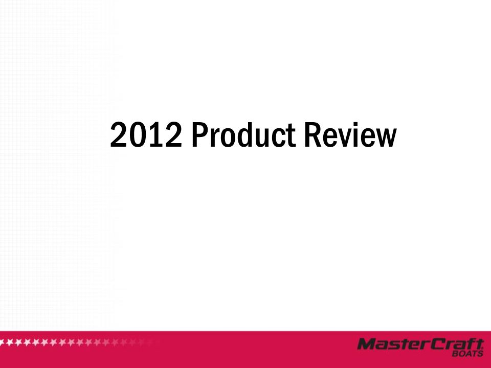 2012 Product Review