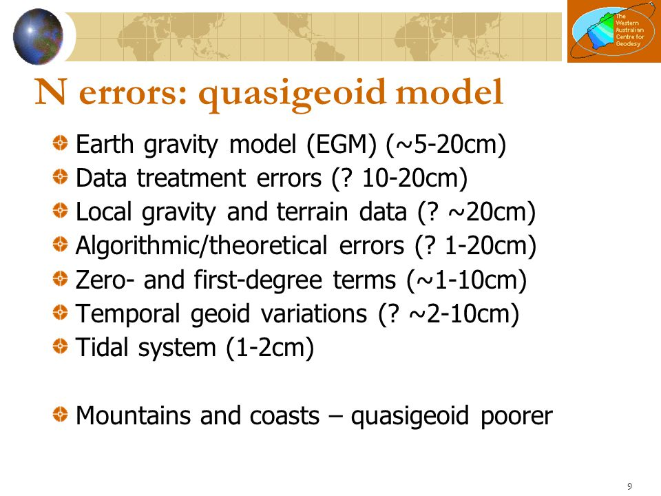 What's new in AUSGeoid09.