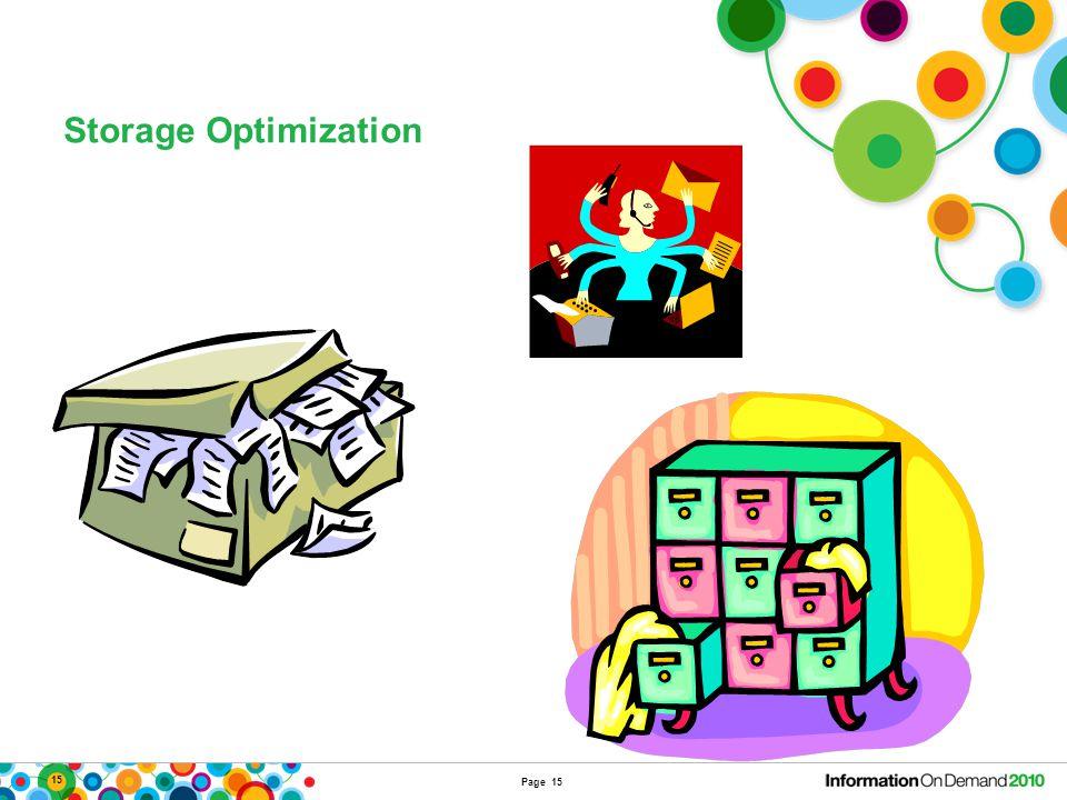 15 Storage Optimization Page 15