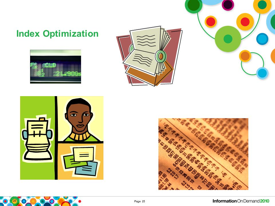 25 Index Optimization Page 25