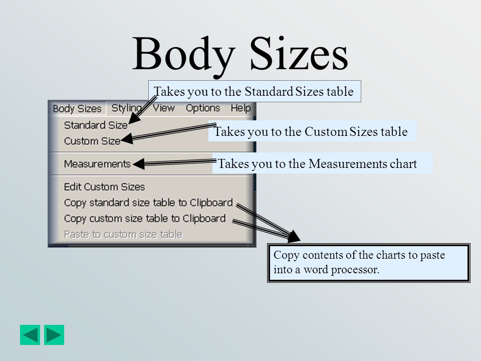 Allows you to change the ease settings of the open garment file.