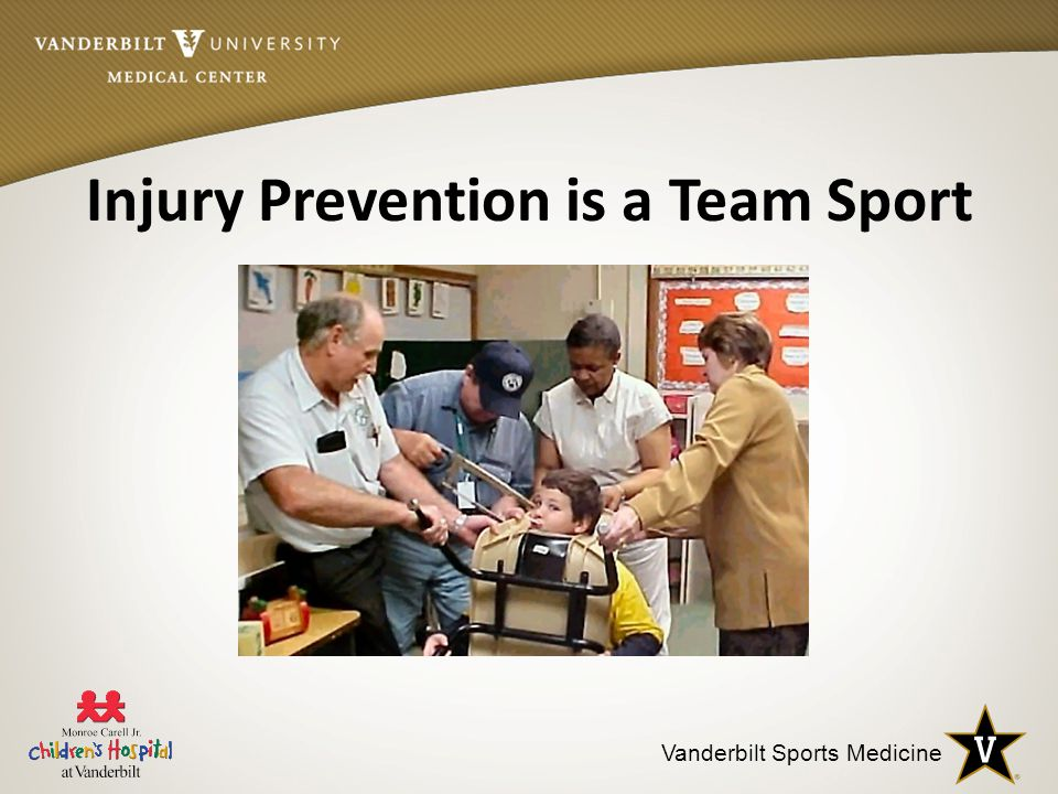 Vanderbilt Sports Medicine Injury Prevention is a Team Sport