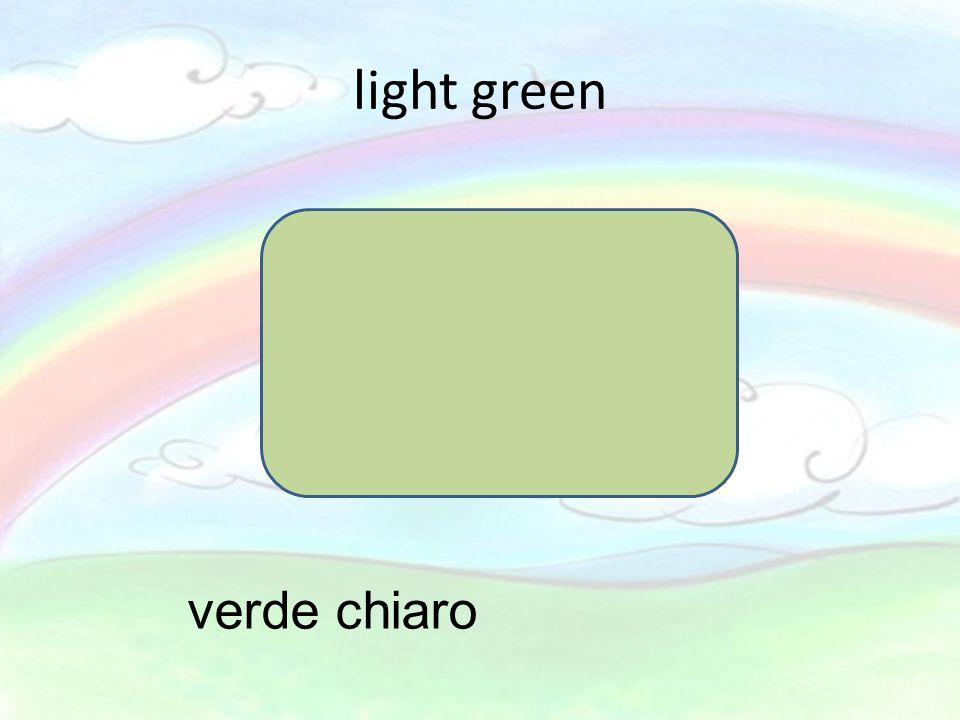 light green verde chiaro