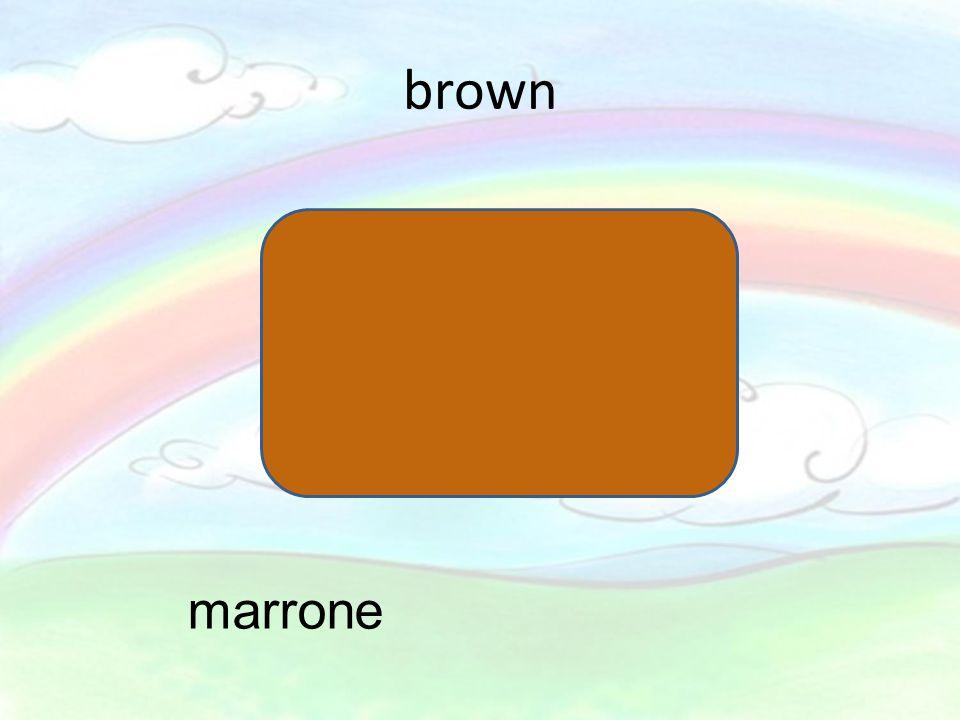 brown marrone