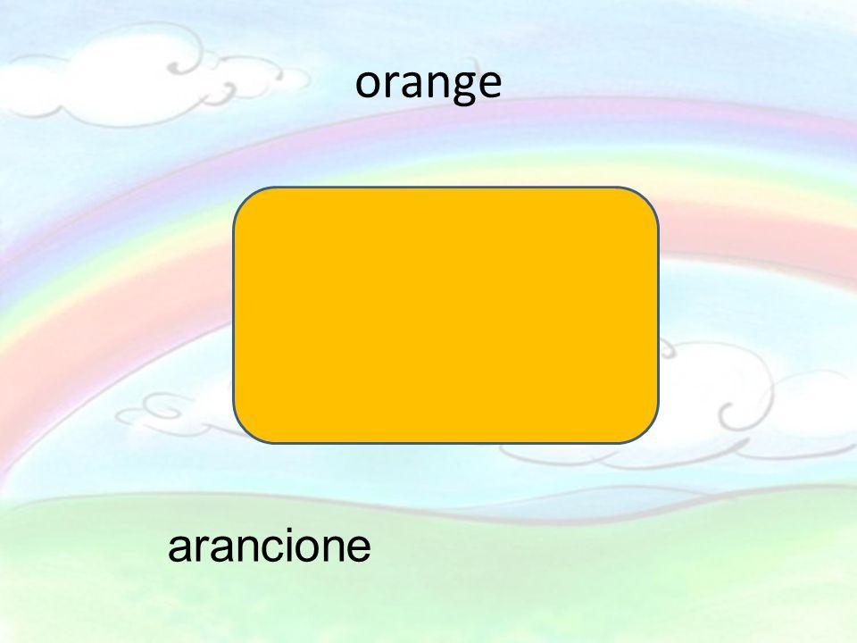 orange arancione