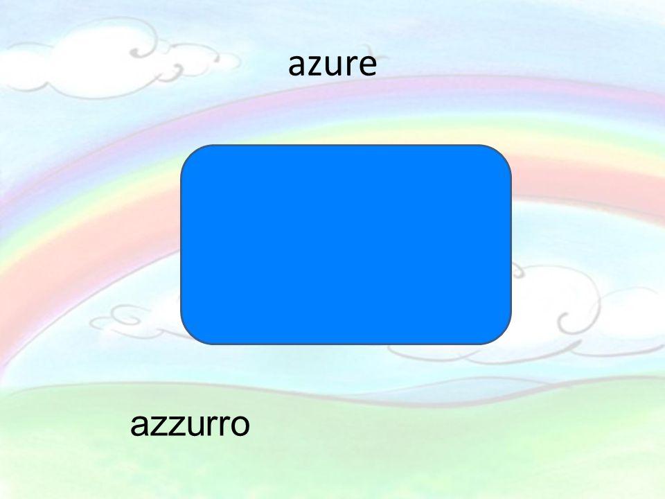 azure azzurro
