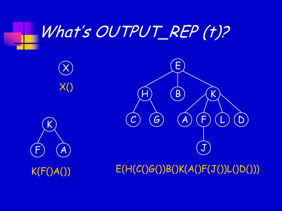 What's OUTPUT_REP (t) E HK CGFL B AD J E(H(C()G())B()K(A()F(J())L()D())) X X() K FA K(F()A())