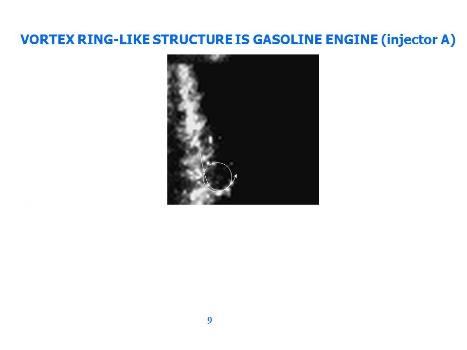 9 VORTEX RING-LIKE STRUCTURE IS GASOLINE ENGINE (injector A),