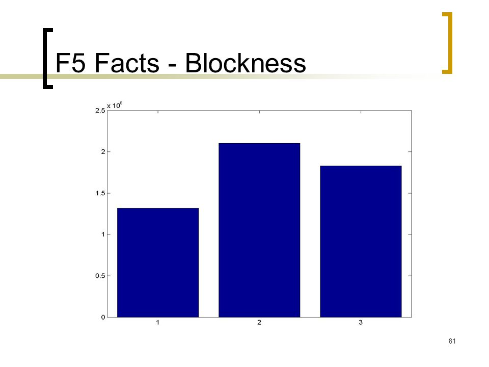 81 F5 Facts - Blockness