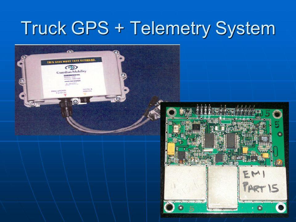 Truck GPS + Telemetry System