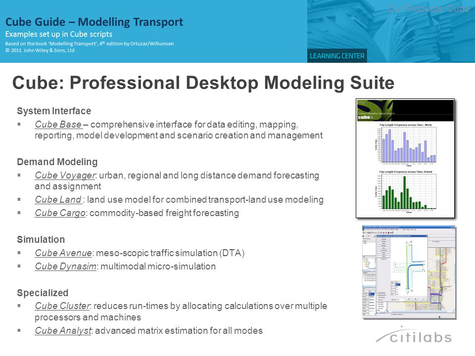 RUN PGM=MATRIX PRNFILE= C:\Modelling Transport_CG\APPLICATIONS\CHAPTER5\E5MAT14I.PRN , MSG= Example 5.4 - matrix exp(-beta*cij) FILEI ZDATI[1] = C:\Modelling Transport_CG\Input\Chapter5\Target_Oi_Dj_future_year_5_3.dbf , Z=ZONE FILEO MATO[1] = C:\Modelling Transport_CG\APPLICATIONS\CHAPTER5\E5MAT14F.MAT , MO=1-2 DEC=2*5 NAME= Cost Matrix Exp Term FILEO RECO[1] = C:\Modelling Transport_CG\APPLICATIONS\CHAPTER5\E5MAT14D.DBF , FIELDS=TOTAL_E(10.5) TOTAL_F(10.5) TAU(10.5) FILEI MATI[1] = C:\Modelling Transport_CG\Input\Chapter5\Cost_matrix_base_year_5_4.dbf , PATTERN=IJ:V FIELDS=O D TIME ;set parameters PAR ZONES=4 ;read the base matrix MW[1]=MI.1.1 ;calculate exp(-(beta)*cij) MW[2]=exp(-{beta}*MW[1]) ;calculate the base matrix total _TOTAL=ROWSUM(2)+_TOTAL ;calculate the future matrix total _TOTAL_F=ZI.1.OI+_TOTAL_F IF(I=ZONES) ;calculate the expansion factor tau=T/t RO.TOTAL_E=_TOTAL RO.TOTAL_F=_TOTAL_F RO.TAU =_TOTAL_F/_TOTAL WRITE RECO=1 ENDIF ENDRUN Ch5-TDM: Ex5.4 – Create base matrix BACK …