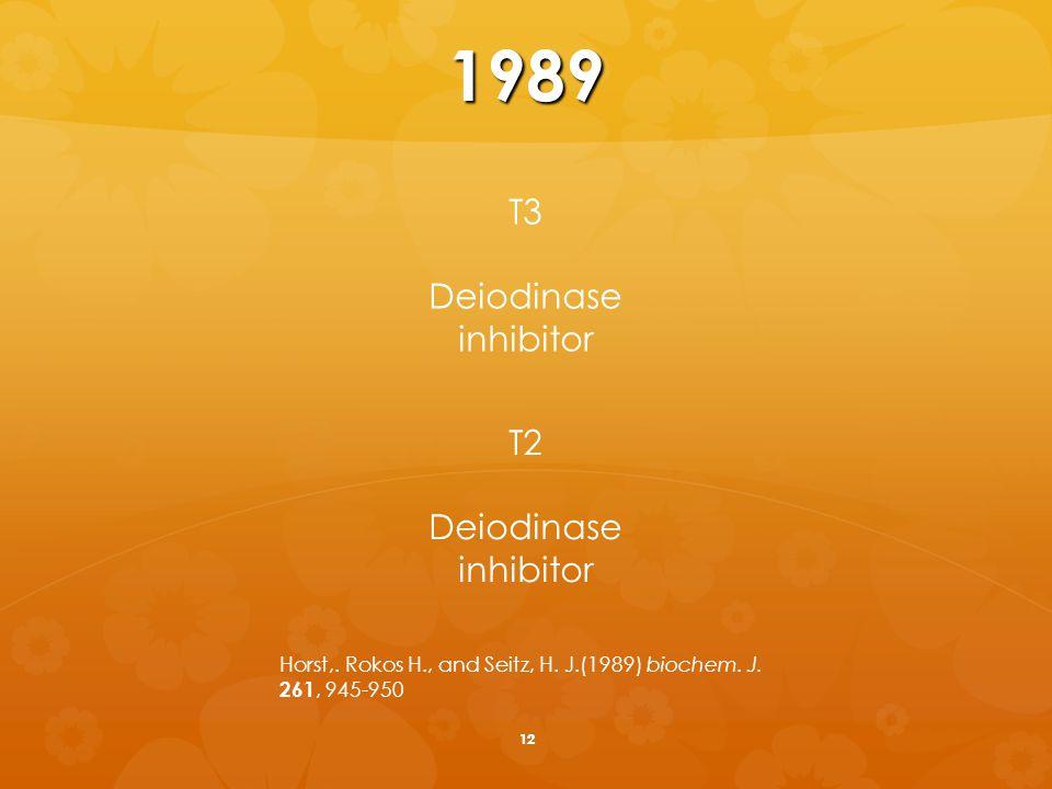 13T2 3,5 ' - diiodothyronine 3 ',5 ' - diiodothyronine 3,5 - diiodothyronine 3,3- diiodothyronine