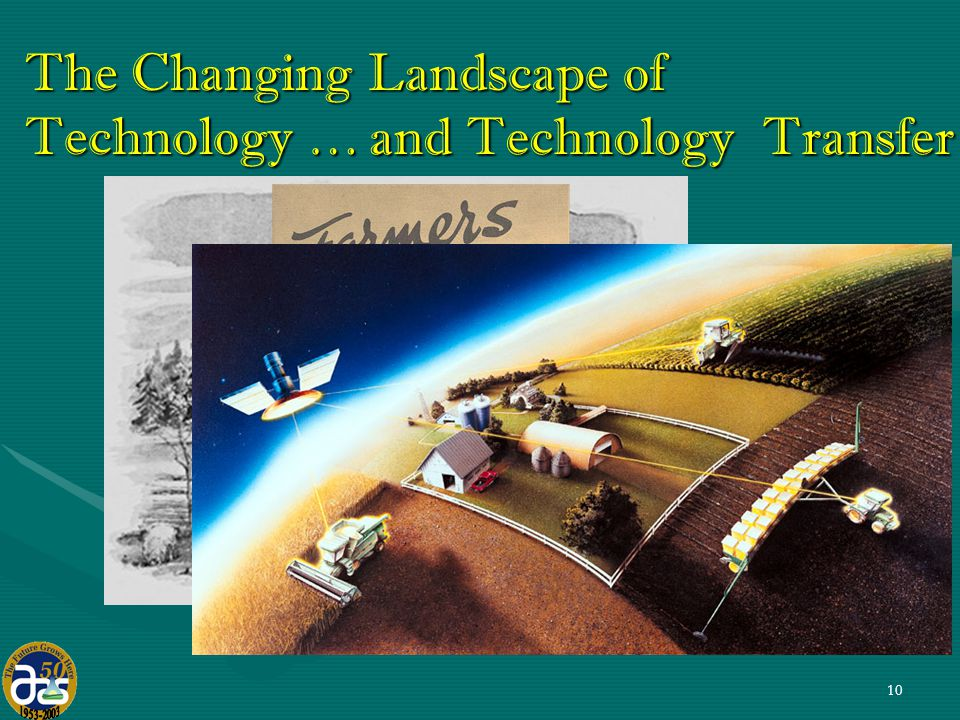 10 and Technology Transfer and Technology Transfer The Changing Landscape of Technology …