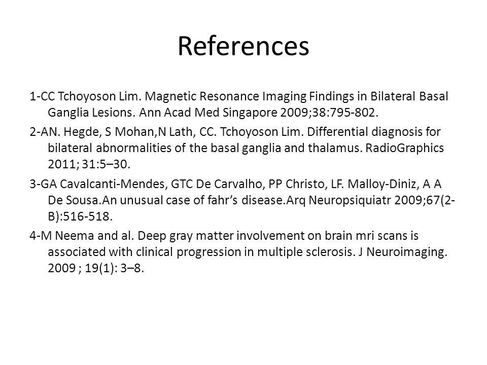 References 1-CC Tchoyoson Lim.