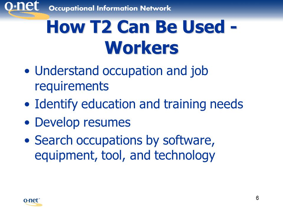 27 Select Tools and Technology