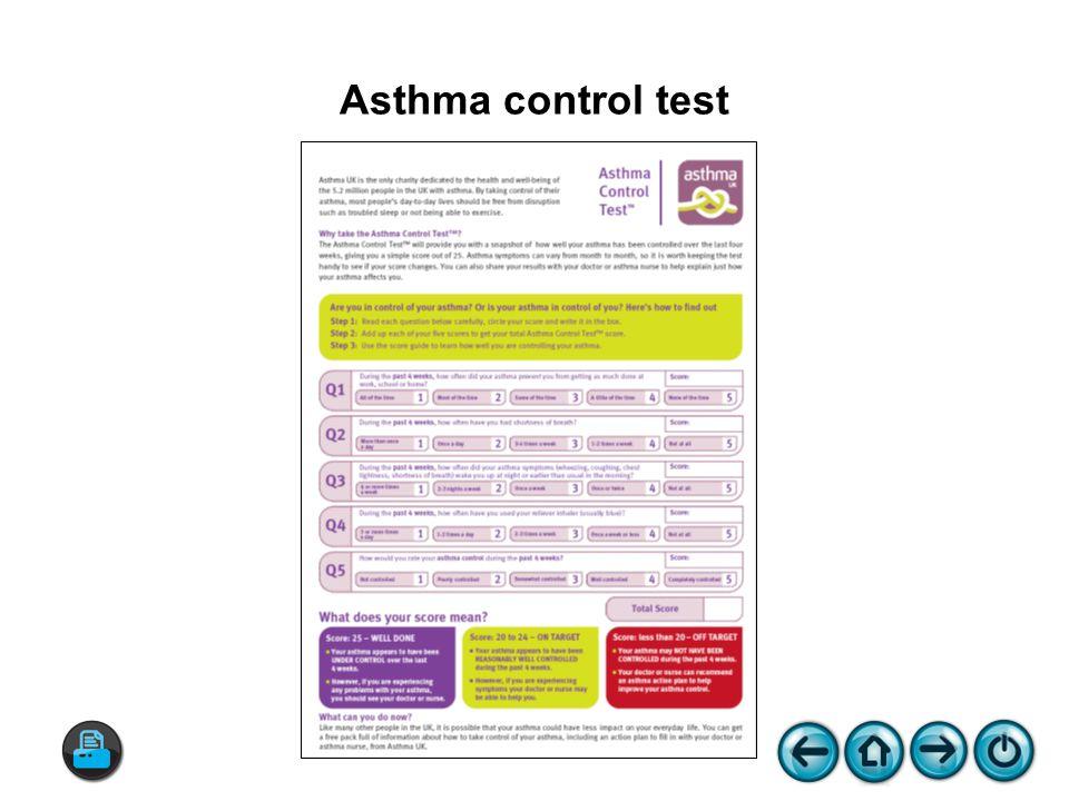 Asthma control test