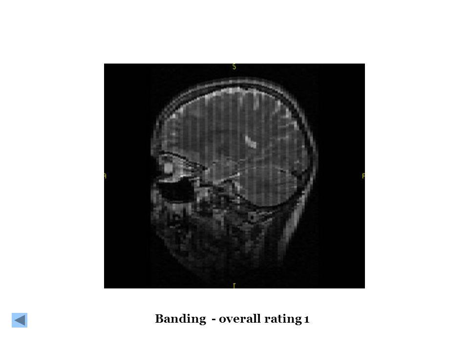 Banding - overall rating 1