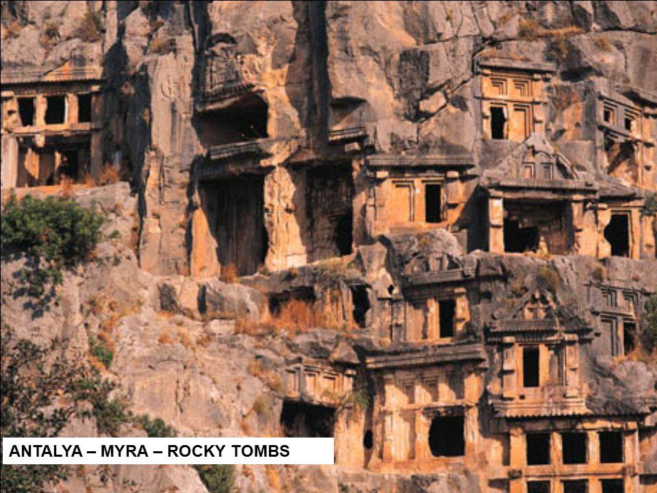 ANTALYA – MYRA – ROCKY TOMBS
