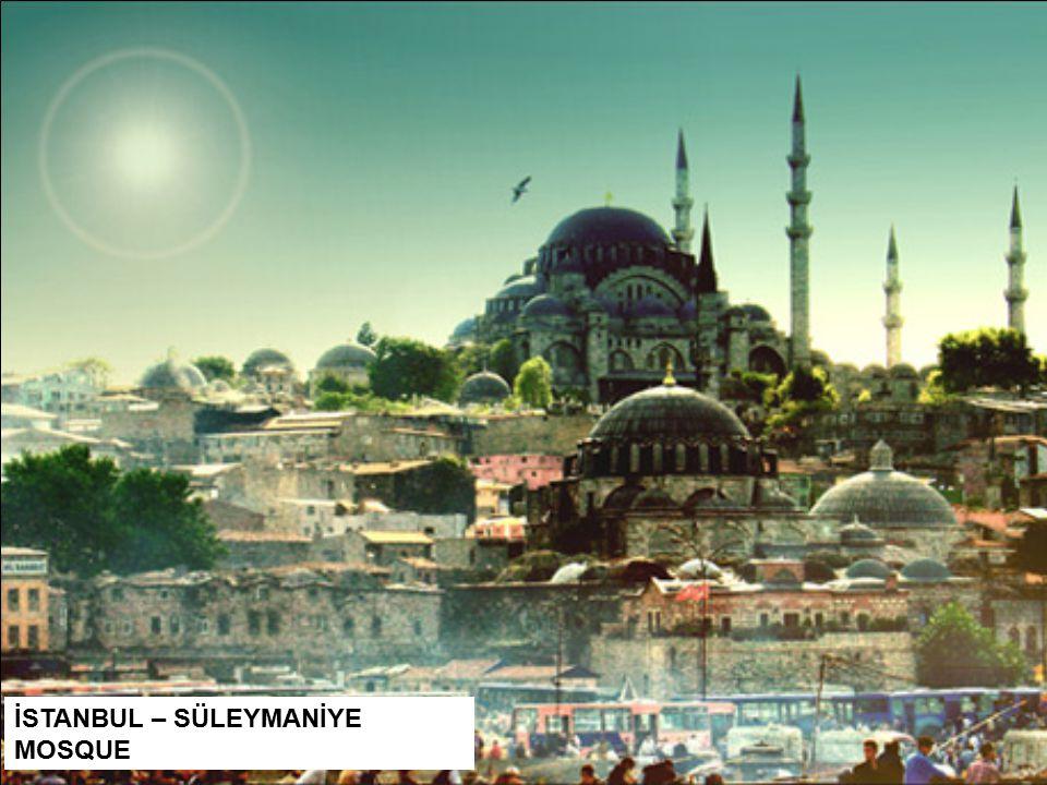 İSTANBUL – SÜLEYMANİYE MOSQUE