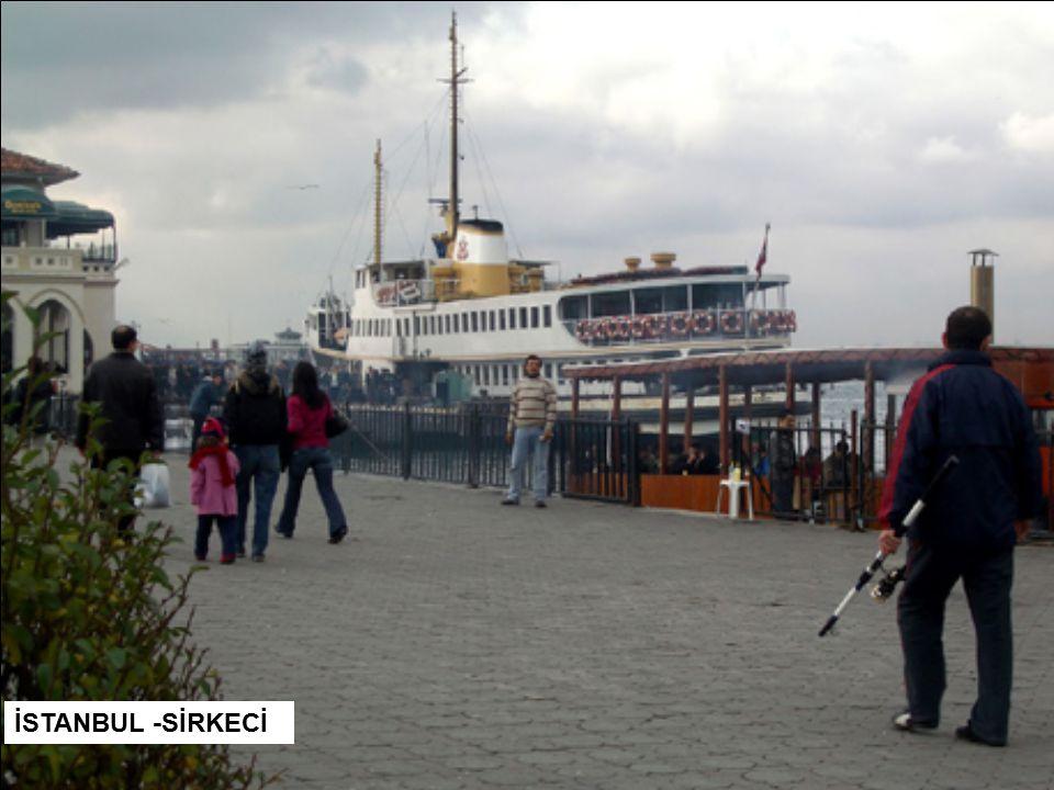 İSTANBUL -SİRKECİ