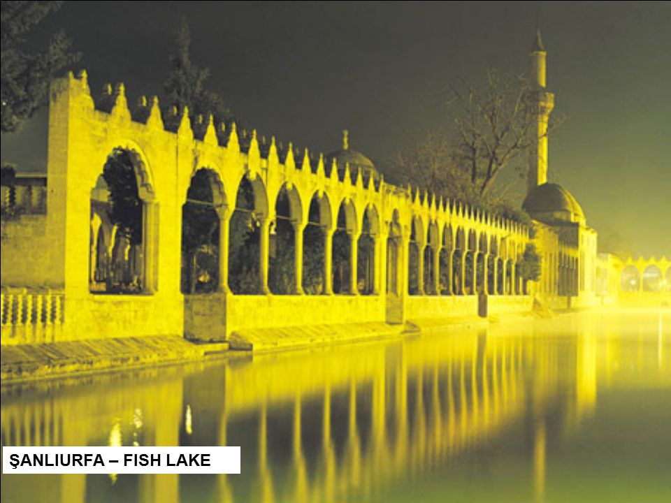 ŞANLIURFA – FISH LAKE