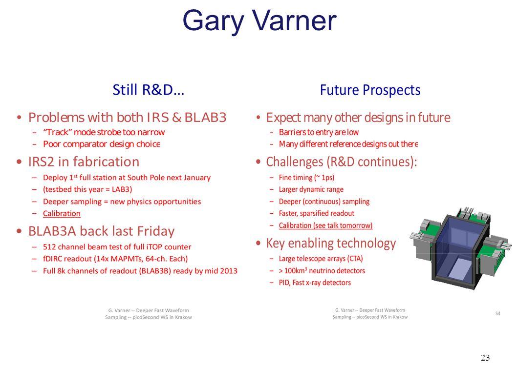 23 Gary Varner