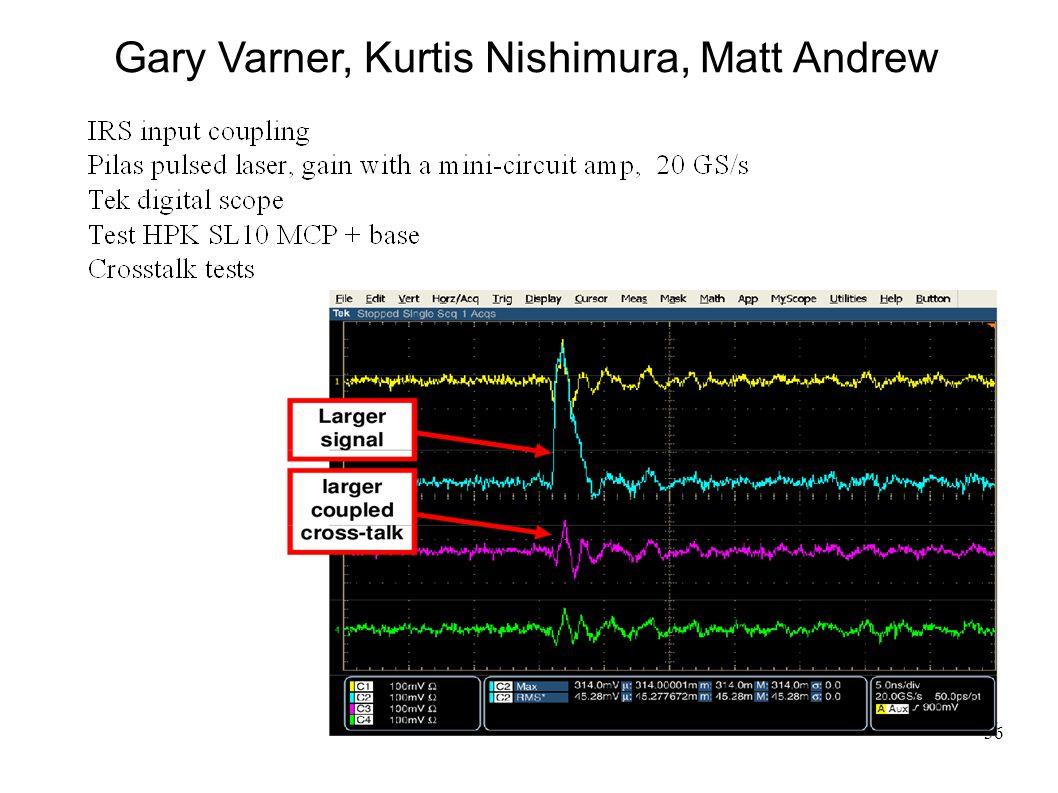 36 Gary Varner, Kurtis Nishimura, Matt Andrew