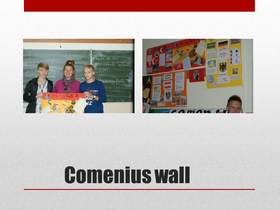 Comenius wall