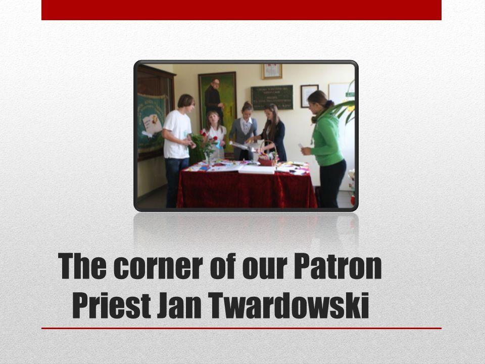 The corner of our Patron Priest Jan Twardowski