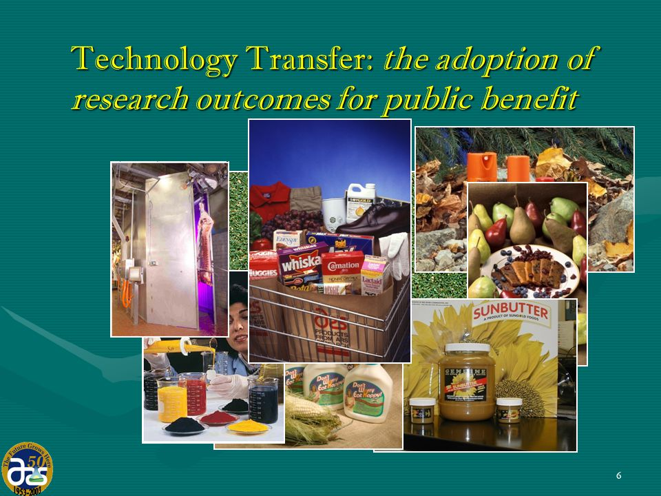 6 Technology Transfer: the adoption of research outcomes for public benefit