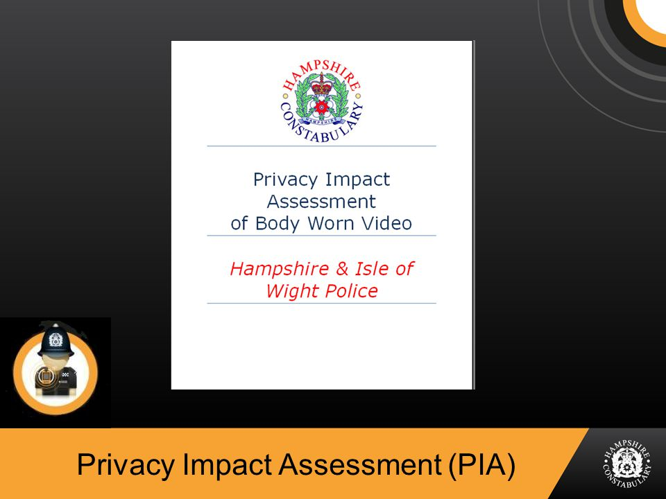 Privacy Impact Assessment (PIA)