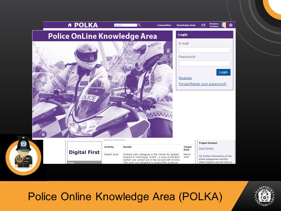 Police Online Knowledge Area (POLKA)